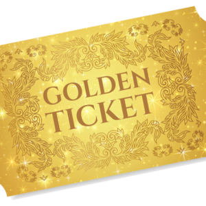 Golden Ticket for Miracles!